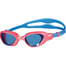 arena The One Goggles Juniors lightblue-red-blue